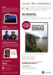 Die Donauten auf der Frankfurter Buchmesse bei 3sat